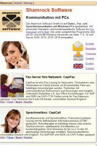 Shamrock middle website